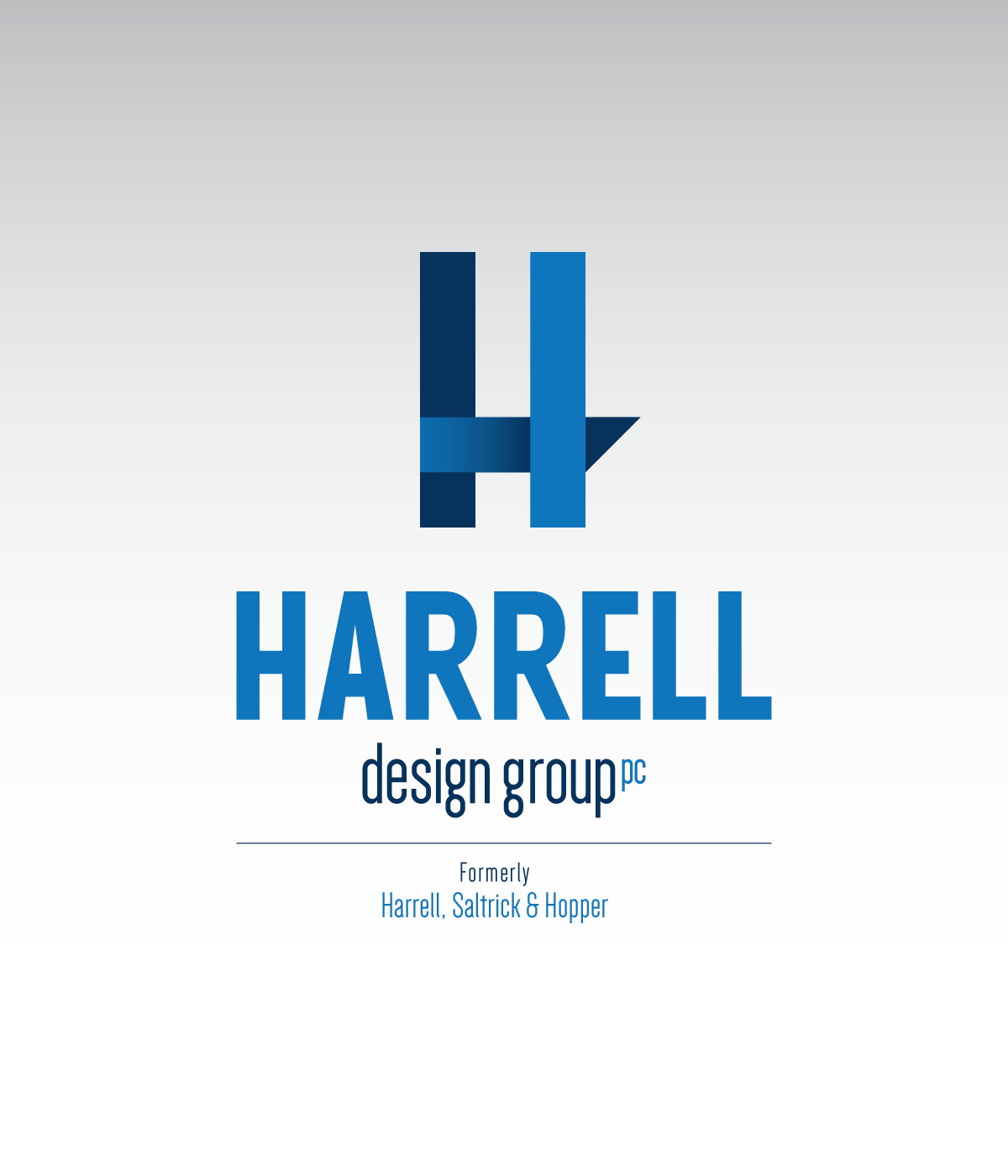 Harrell Design Group Logo on White